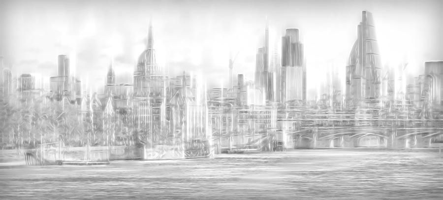 London skyline  by John Humphrey