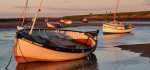 03 Evening At Burnham Overy by Mike Mitchell