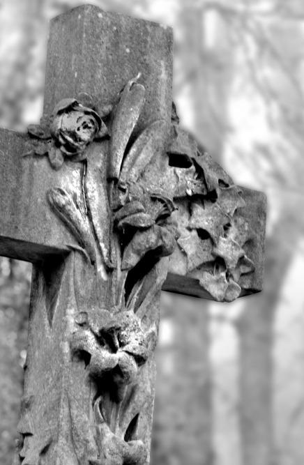 27 Sculptured Cross by Sue Case
