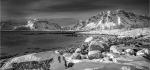 26 Winter Scene Lofoten by Jim Turner