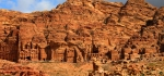 The Royal Tombs Of Petra by Ully Jorimann