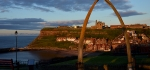 Golden hour in Whitby by John Marshall