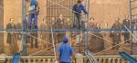 Mending the Mural by John Humphrey