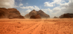 18 Sand Rising In Wadi Rum by Ully Jorimann