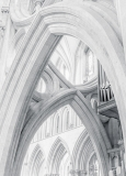 Scissor Arch Wells Cathedral by Jim Turner