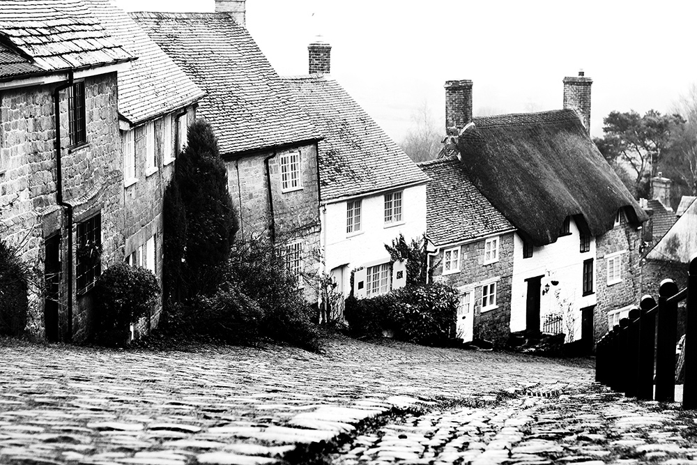 Cottages and cobbles by Sue Case