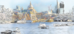 London skyline by John Humphrey